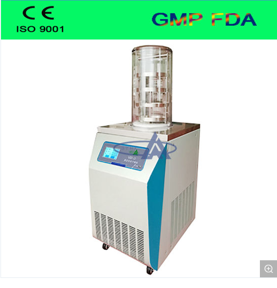 High Cost Performance Vacuum Freeze Dryer/ Laboratory Lyophilizer